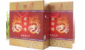 安师傅ob欧宝体育熟食厂家直销特色产品清炖牛腩卤牛腱国风礼品盒1600g